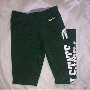 Michigan State Nike leggings size S